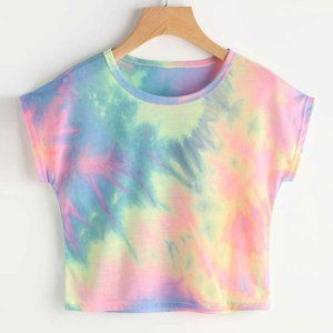 Tye Dye Crop Top
